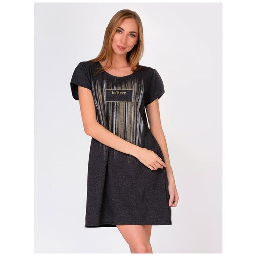 Платье Margo, размер 48, графит меланж