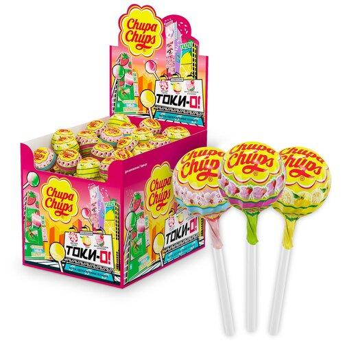 карамель chupa chups xxl flavors playlist ассорти 60 шт Карамель Chupa Chups Tok-Yo! ассорти, 1200 г 100 шт.