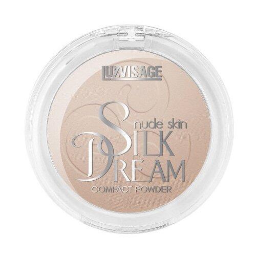 Фото - LUXVISAGE пудра компактная Silk Dream Nude Skin №06 Натуральный luxvisage румяна silk dream тон 4