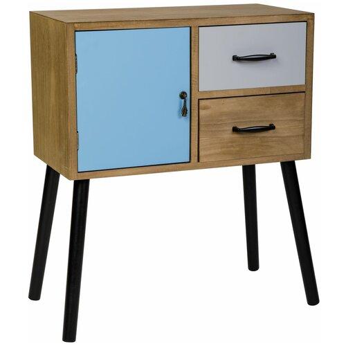 ecodesign комод с двумя ящиками и дверцей hx19 207 Комод с двумя ящиками и одной дверцей