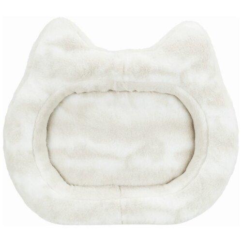 Лежак Nelli, 70 х 60 см, бело-коричневый, Trixie (товары для животных, 37501)