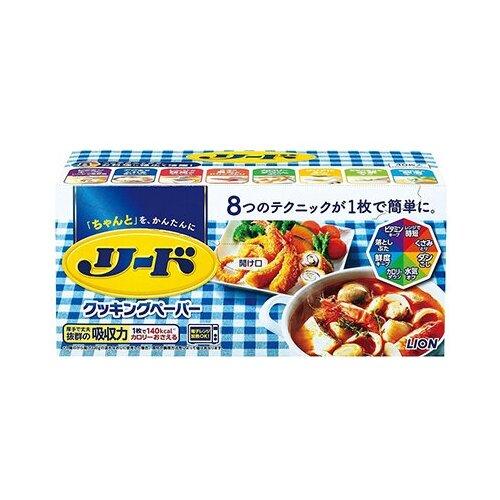 Бумага LION Reed для абсорбирования масла и хранения продуктов, рулон (40 шт.)
