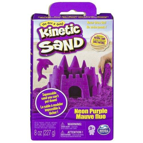 Kinetic Sand Кинетический песок набор для лепки 240 г (фиолетовый) недорого
