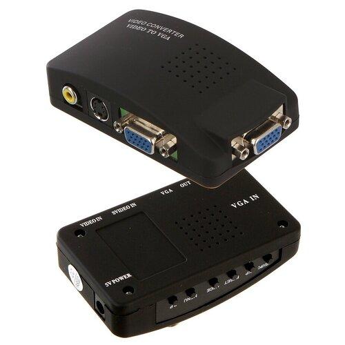 Аксессуар Palmexx RCA-Video S-Video to VGA PX/V-SV-VGA аксессуар palmexx hdmi vga px hdmi vga