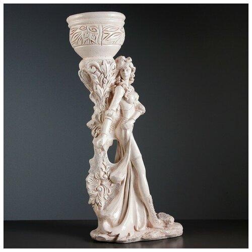 Хорошие сувениры Фигура с кашпо Девушка Диана состаренный 79 см фигура ангел девушка у колонны состаренный 17х22х43см 1805232
