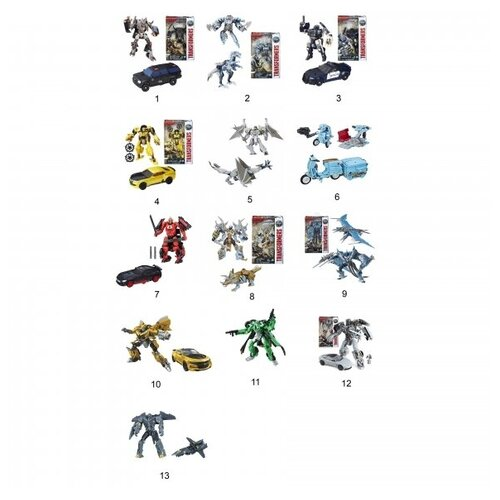 роботы transformers hasbro трансформеры 5 movie уан степ Робот-трансформер Hasbro TRANSFORMERS Трансформеры-5 Делюкс