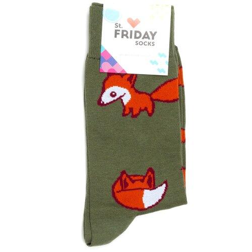 Носки с рисунками St.Friday Socks - Лисички 42-46