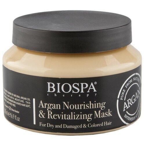 Купить Маска для волос `SEA OF SPA` `BIOSPA` с аргановым маслом (питательная) 500 мл
