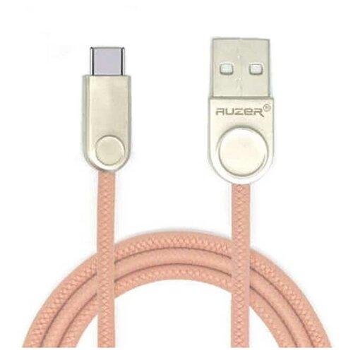 Кабель синхронизации USB Auzer AC-T21PK Type-C кабель синхронизации micro usb auzer ac m21we