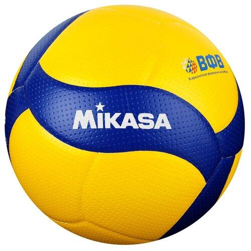 Мяч волейбольный MIKASA V300W, размер 5, FIVB Appr, микрофибра