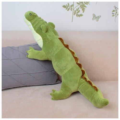 Мягкая игрушка Крокодил 95 см Светло Зеленый