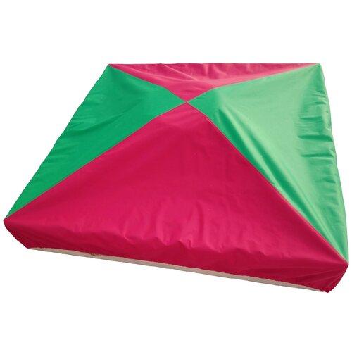 Защитный чехол для песочницы, бриз ПК, 200*200*15 см, зелено-красный