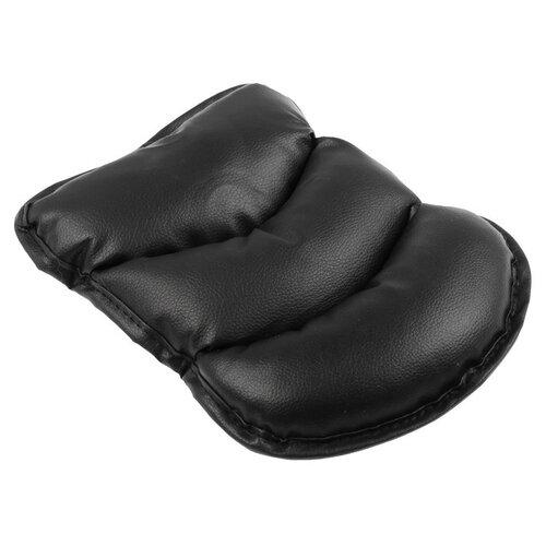 Подушка на подлокотник, экокожа, черный 3043431