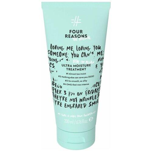 Фото - Интенсивно увлажняющая маска для волос Four Reasons Original Ultra Moisture Treatment 200 мл medius двойная маска увлажняющая moisture focus 25 мл