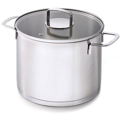 Кастрюля суповая с крышкой Mambo 7,7 л диаметр 24 см, нержавеющая сталь, BEKA, 13813244 кастрюля суповая polo 9 л 24 см 12033254 beka