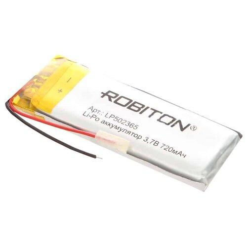 Фото - Аккумулятор ROBITON LP502365 3.7В 720mAh аккумулятор robiton lp501335