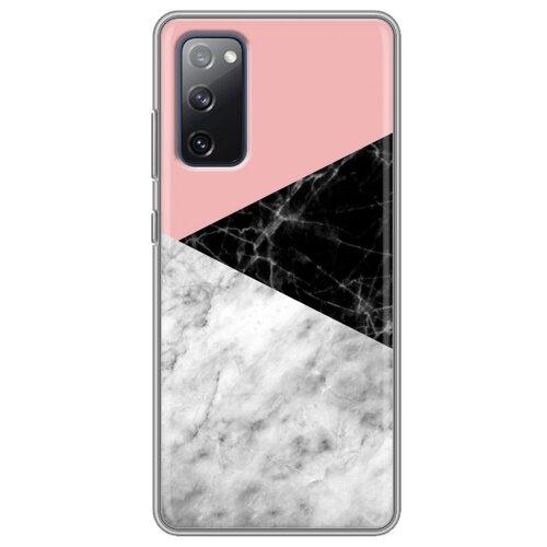 Дизайнерский силиконовый чехол для Samsung Galaxy S20 FE Мраморные тренды