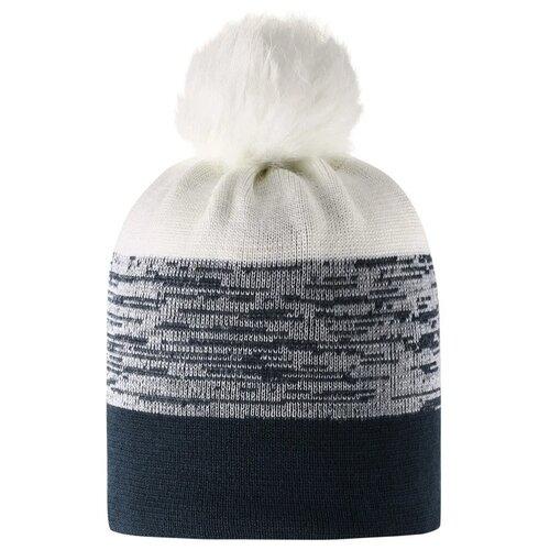 Шапка бини Lassie размер 50, синий шапка бини playtoday размер 50 темно синий