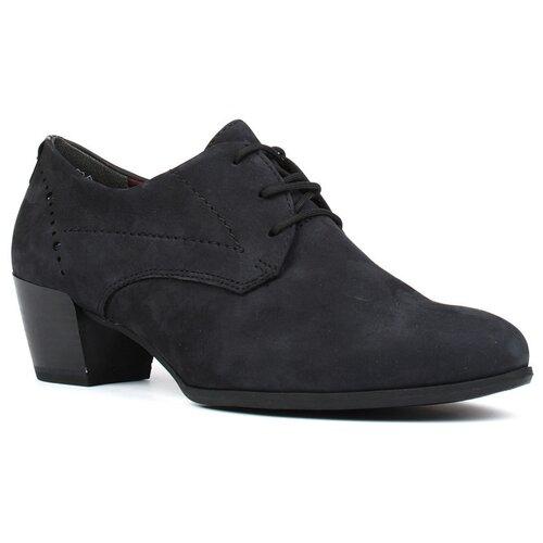 Туфли Tamaris , размер 40 , темно-синий туфли блестящие с цветочком темно синий