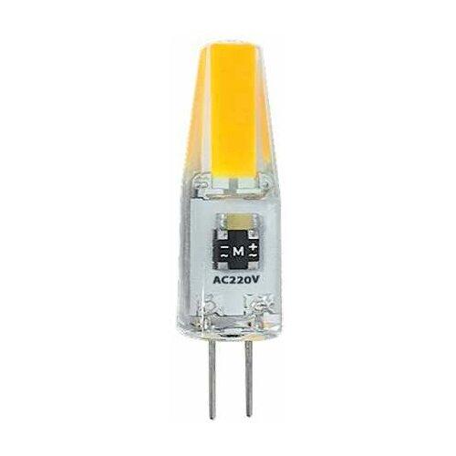 Фото - Лампа светодиодная PLED-G4 COB 3Вт капсульная 3000К тепл. бел. G4 240лм 220В JazzWay 2857446 (упаковка 10 шт) лампа светодиодная jazzway pled g4