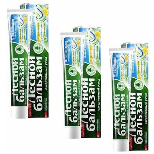 Зубная паста Лесной бальзам С соком лимона 130 гр (3 шт в наборе)