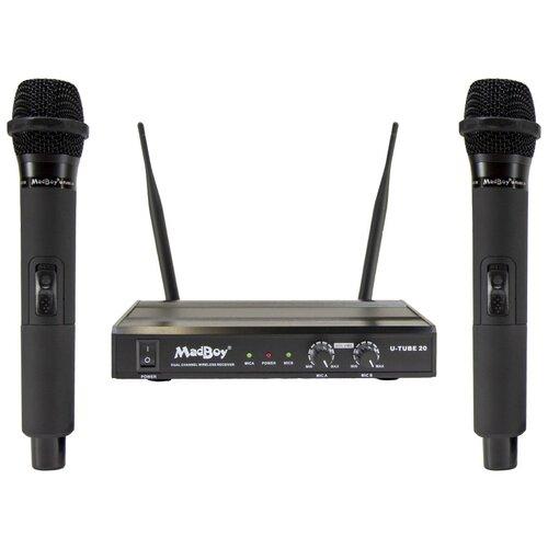 Комплект микрофонов MadBoy U-Tube 20, черный