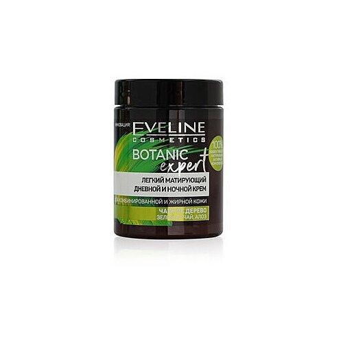 Купить Eveline BOTANIC EXPERT 100мл Матирующий крем-детокс для лица антибактериальный 3в1, Eveline Cosmetics