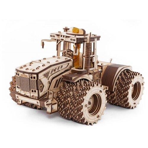 Конструктор деревянный 3D EWA Трактор Кировец К-7М