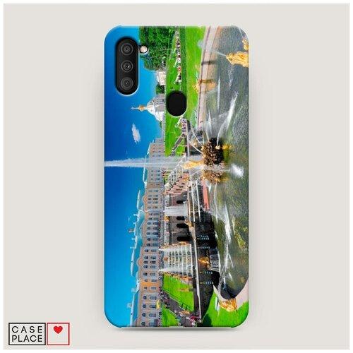Чехол Пластиковый Samsung Galaxy A11 Петергоф