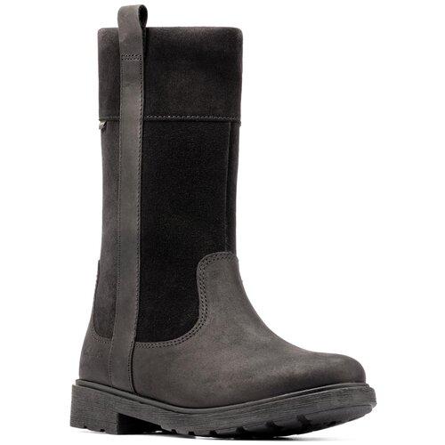 Сапоги Clarks размер 32, черный туфли clarks clarks cl567ambuup3