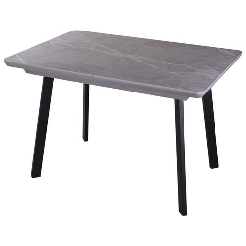 Стол кухонный с керамогранитом раскладной Блюз ПР-1 КРМ 87 СМ 93 ЧР. Размеры стола (ДхШхВ): 119,2(158,2)х80х75 см