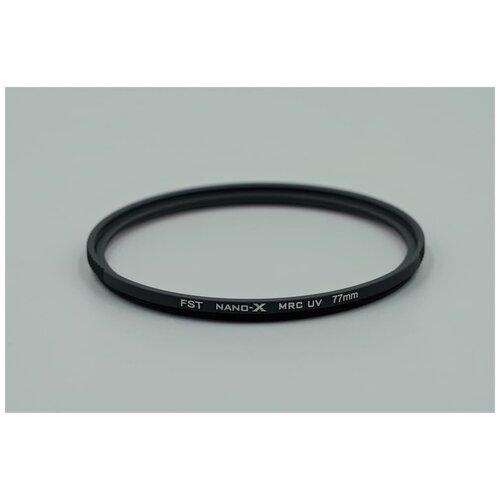 Фото - Ультрафиолетовый защитный фильтр FST 77mm NANO-X MCUV поляризационный фильтр fst 77mm nano x cpl