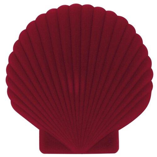 Шкатулка для украшений Shell, красная