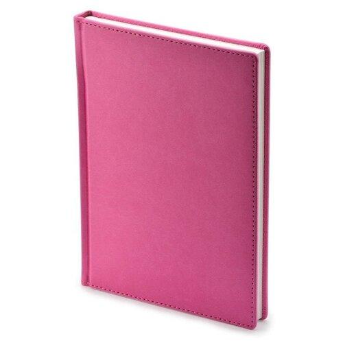 Купить Ежедневник недатированный Attache Velvet искусственная кожа A5+ 136 листов розовый (146х206 мм) 1 шт., Ежедневники