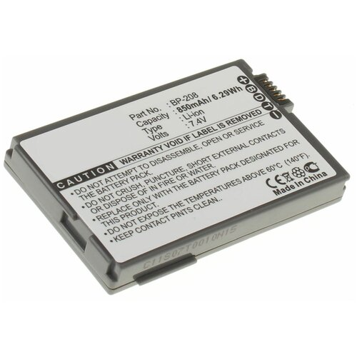 Фото - Аккумуляторная батарея iBatt 850mAh для Canon MVX430 аккумуляторная батарея ibatt 850mah для pentax praktica samsung klic 7005 np 40n