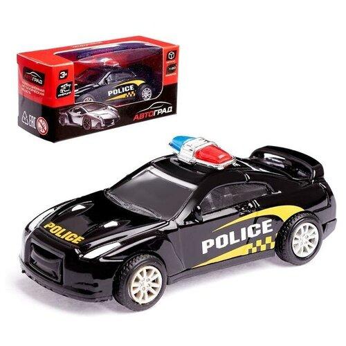 Фото - Автоград Машина металлическая «Полиция», масштаб 1:50 , инерция, микс автоград машина металлическая микроавтобус пожарная служба инерция 1 43 sl 01428k 3527632