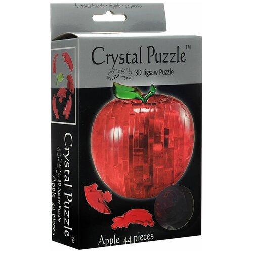 Купить Apple, Crystal Puzzle (3D головоломка, 44 детали), Jeruel Industrial Company, Головоломки