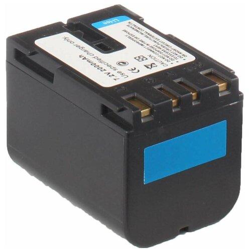 Фото - Аккумулятор iBatt iB-B1-F157 2200mAh для JVC BN-V408U, BN-V438U, BN-V428U, BN-V428, усиленный аккумулятор для jvc bn v416 bn v416u bn v428