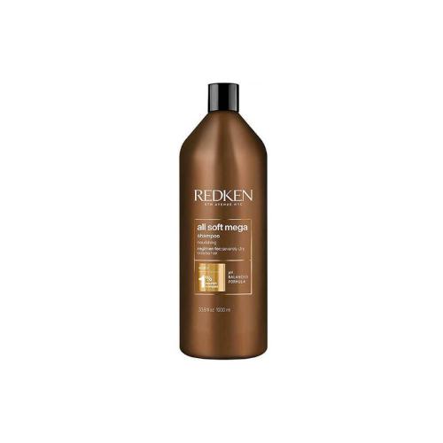 Фото - Redken All Soft Mega Shampoo Шампунь для сухих и ломких волос 1000 мл шампунь для волос redken all soft 300 мл