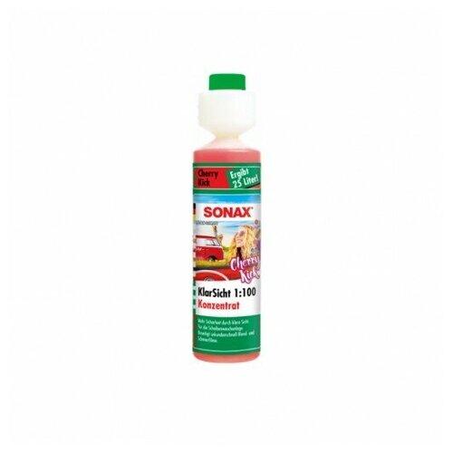 SONAX Стеклоомыватель концентрат 1:100 аромат Вишневый Удар 250мл