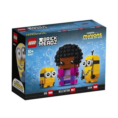 Конструктор LEGO BrickHeadz 40421 Кевин и Боб