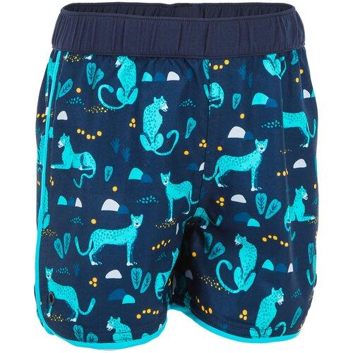 Плавки–шорты детские с принтом, размер: 73-75 CM 12M, цвет: Синий Графит NABAIJI Х Декатлон