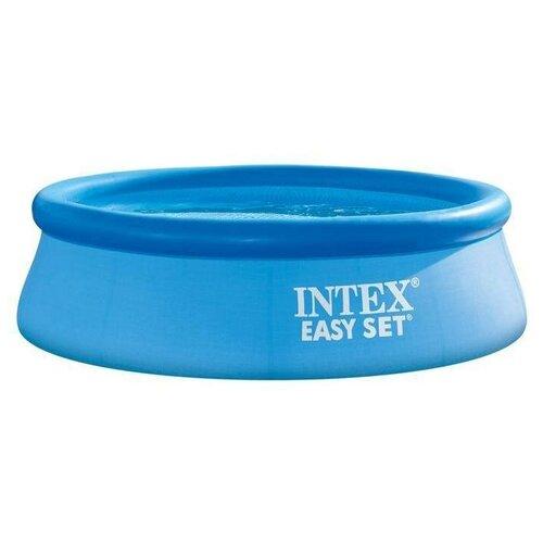 Фото - Бассейн надувной INTEX Easy Set 244х61см 1942л, фил.-насос 1250л/ч (28108) бассейн intex intex easy set 244х61 см 1942 л фил насос 1250 л ч