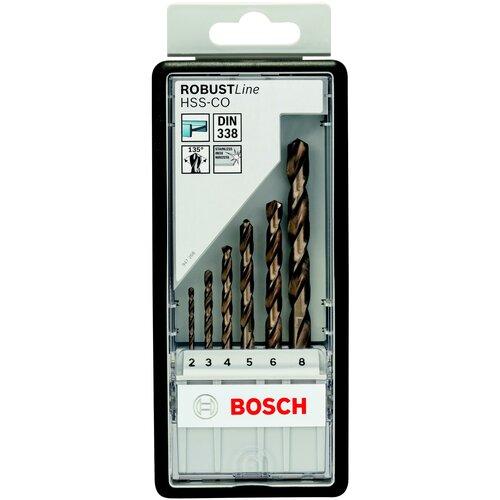 Фото - Набор сверл BOSCH Robust Line 2.607.019.924 набор сверл bosch robust line multi construction 2 607 010 543