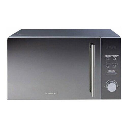 Микроволновая печь HORIZONT 20MW700-1479BKB объем 20 л мощность 700 Вт электронное управление гриль черная 1 шт.