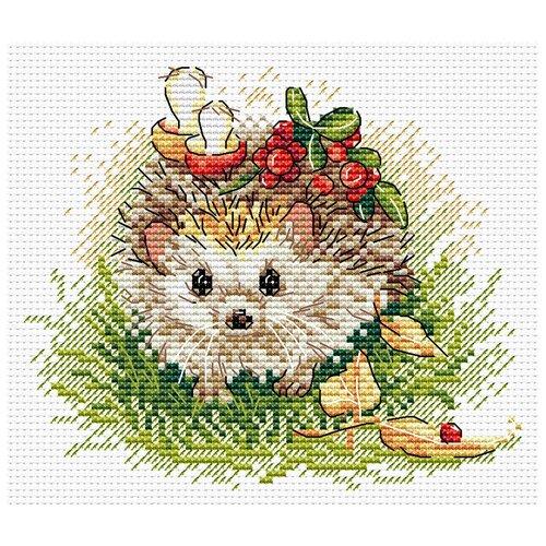 Купить Набор для вышивания М №12 №129 Запасливый ёжик 18 х 15 см, Жар-птица, Наборы для вышивания