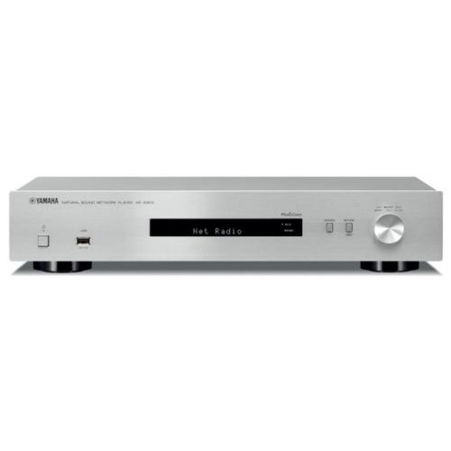 Фото - Сетевой аудио плеер YAMAHA NP-S303, серебристый плеер сетевой accustic arts streamer es silver