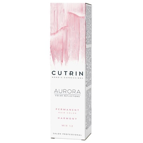 Фото - Cutrin AURORA Крем-краска для волос, 0.06 Платиновый жемчуг, 60 мл cutrin aurora крем краска для волос 6 75 брауни 60 мл