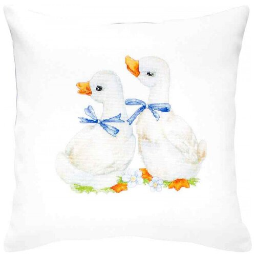 Luca-S Набор для вышивания подушки 40 х 40 см (PB160) набор для вышивания подушки collection d art 40 х 40 см 5018