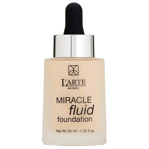 L'Arte del bello Тональный флюид Miracle Fluid, 30 мл, оттенок: 501 mac тональный флюид studio fix fluid spf15 30 мл оттенок n6 5